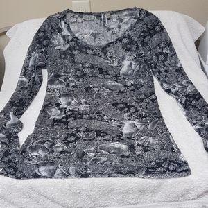 Women's Bke lace blouse